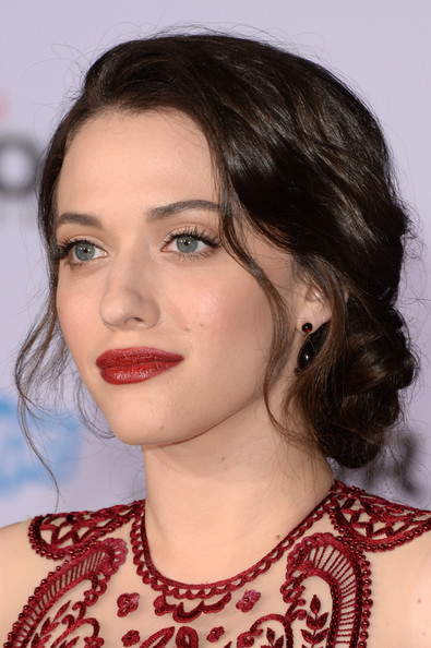 Kat Dennings Braided Updo