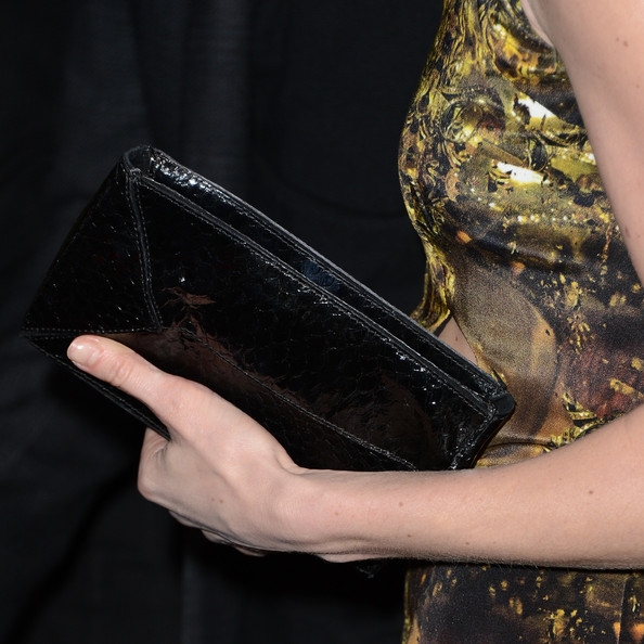Kate Bosworth Patent Leather Clutch