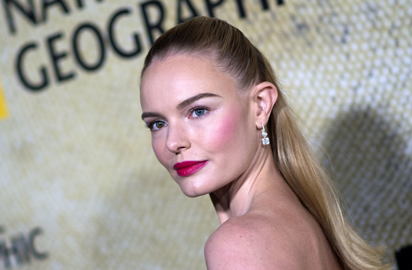 Kate Bosworth Dangling Diamond Earrings