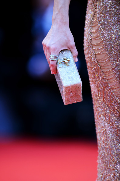 Kate Hudson Hard Case Clutch [the reluctant fundamentalist,hand,finger,nail,games,kate hudson,handbag detail,palazzo del cinema,venice,italy,premiere and opening ceremony,69th venice film festival]