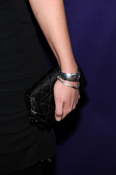 Kate Hudson Satin Clutch