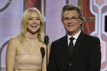 Kate Hudson Kurt Russell NBC's '73rd Annual Golden Globe Awards' - Show