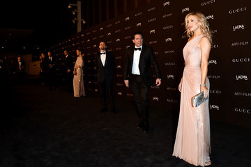 Kate Hudson Matt Bellamy Arrivals at the LACMA Art + Film Gala — Part 2