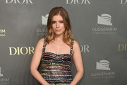 Kate Mara Leather Clutch