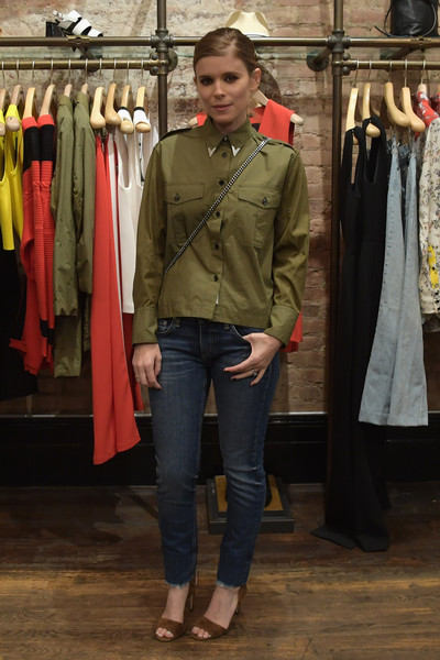 Kate Mara Military Jacket
