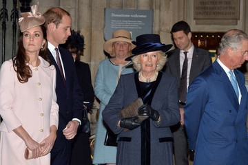 Kate Middleton Camilla Parker Bowles Commonwealth Service at Westminster Abbey — Part 2