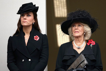 Kate Middleton Camilla Parker Bowles The UK Observes Remembrance Sunday