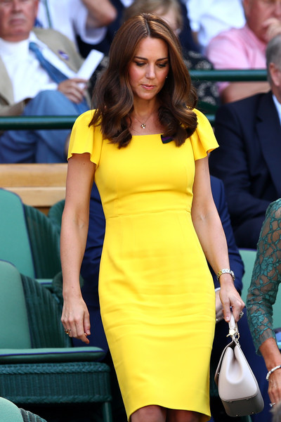 Kate Middleton Form-Fitting Dress