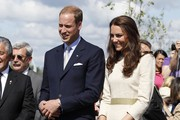 Kate Middleton Is Absolutely Elegant in Cream By Malene Birger on Day 6 of Their Canadian Tour