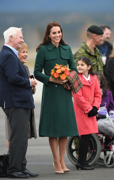 Kate Middleton Trenchcoat