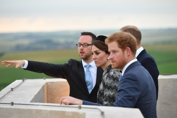 Kate Middleton Prince Harry Royal Family Attend The Somme Centenary Commemorations In France