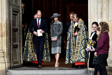 Kate Middleton Prince Harry The Royal Family Attends The Commonwealth Observance Day Service