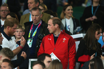 Kate Middleton Prince Harry England v Wales - Group A: Rugby World Cup 2015