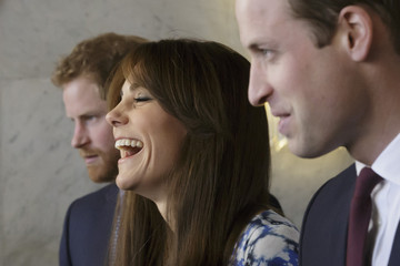Kate Middleton Prince William Duke and Duchess of Cambridge and Prince Harry Attend the Charities Forum, BAFTA
