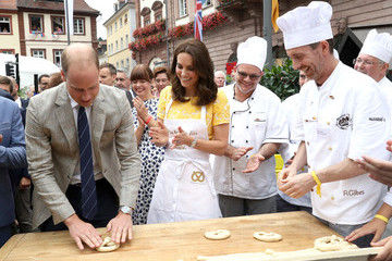 Kate Middleton Prince William The Duke and Duchess of Cambridge Visit Germany - Day 2