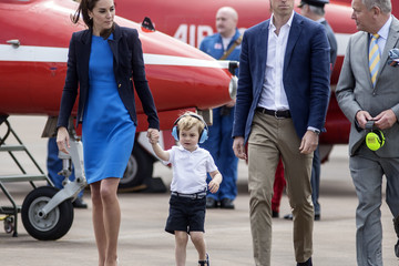 Kate Middleton Prince William The Duke & Duchess of Cambridge Visit the Royal International Air Tattoo