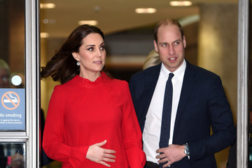 Kate Middleton Prince William The Duke and Duchess of Cambridge Attend Children's Global Media Summit