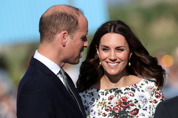 Kate Middleton Prince William The Duke and Duchess of Cambridge Visit Poland - Day 2