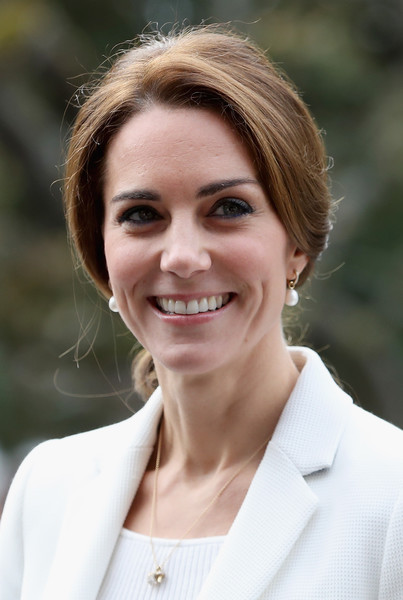 Kate Middleton Loose Ponytail