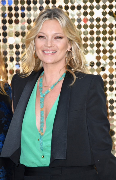 Kate Moss Beaded Lariat Necklace