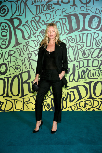 Kate Moss Pantsuit [dior men fall 2020 runway show,fashion,talent show,carpet,event,performance,flooring,style,premiere,fashion design,dior men,kate moss,miami,florida,fall 2020 runway show]