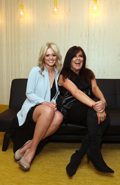 More Pics of Emily Atack Platform Pumps (1 of 14) - Emily Atack Lookbook - StyleBistro