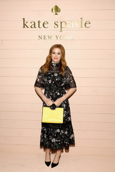 Isla Fisher At New York Fashion Week, 2018