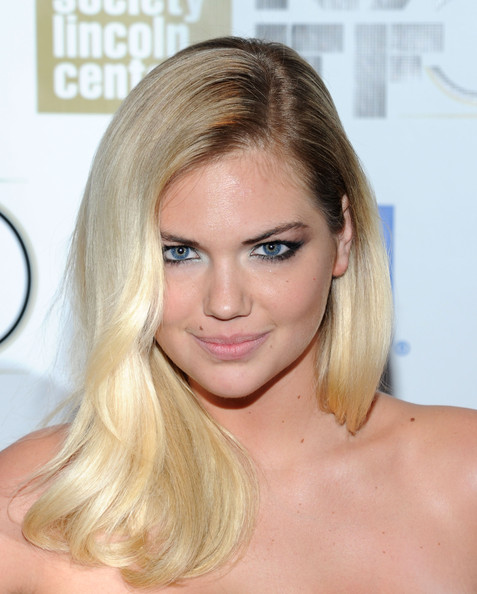 Kate Upton Long Side Part