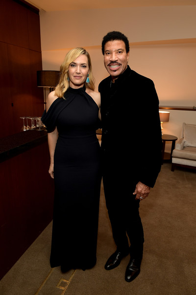 Kate Winslet Halter Dress [fashion,little black dress,dress,formal wear,event,suit,fashion design,tuxedo,haute couture,smile,honorees,kate winslet,lionel richie,beverly hills,california,wallis annenberg center for the performing arts,l,sag-aftra foundation patron of the artists awards,sag-aftra foundation patron of the artists awards 2017]