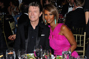 Musician David Bowie and supermodel Iman attend the DKMS' 5th Annual Gala: Linked Against Leukemia honoring Rihanna & Michael Clinton hosted by Katharina Harf at Cipriani Wall Street on April 28, 2011 in New York City.
