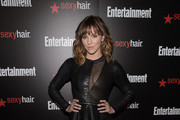 Katharine McPhee Leather Dress