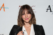 Katharine McPhee Leather Jacket