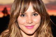 Katharine McPhee Medium Wavy Cut with Bangs