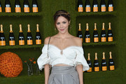 Katharine McPhee Off-the-Shoulder Top