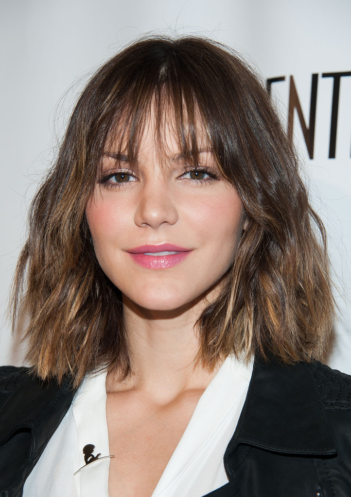 Katharine Mcphee Short Wavy Cut Katharine Mcphee Hair Lookbook