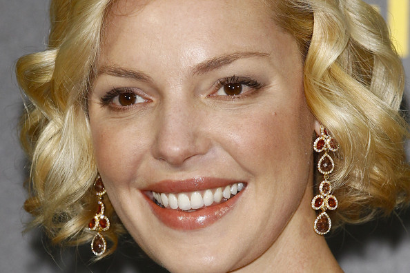 More Pics of Katherine Heigl Nude Lipstick (1 of 22) - Katherine Heigl Lookbook - StyleBistro