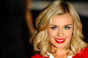 Katherine Jenkins signs copies of her new album at HMV, Oxford Street on October 14, 2011 in London, England.