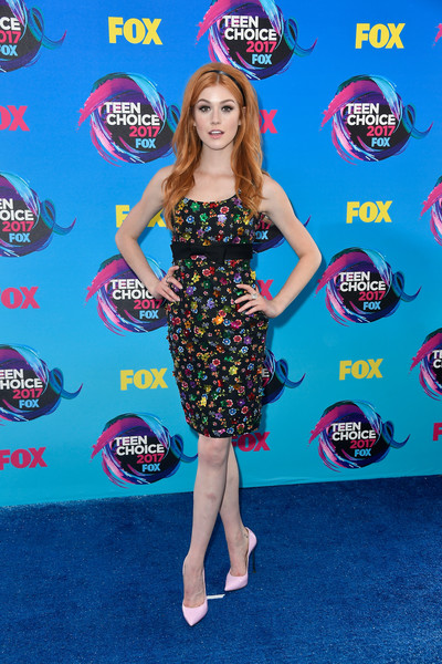 Katherine McNamara Beaded Dress