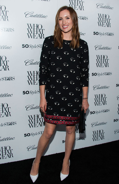 Katherine Power Print Dress