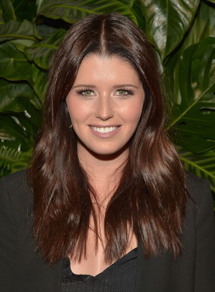 Katherine Schwarzenegger Long Center Part Katherine