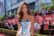 Katherine Webb Strapless Dress