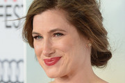 Kathryn Hahn Bobby Pinned updo