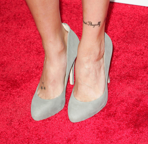 Katie Cassidy Star Tattoo