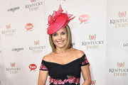 Katie Couric Off-the-Shoulder Dress