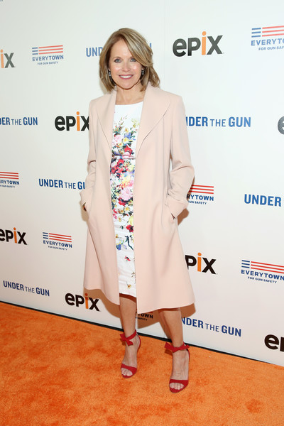 Katie Couric Duster