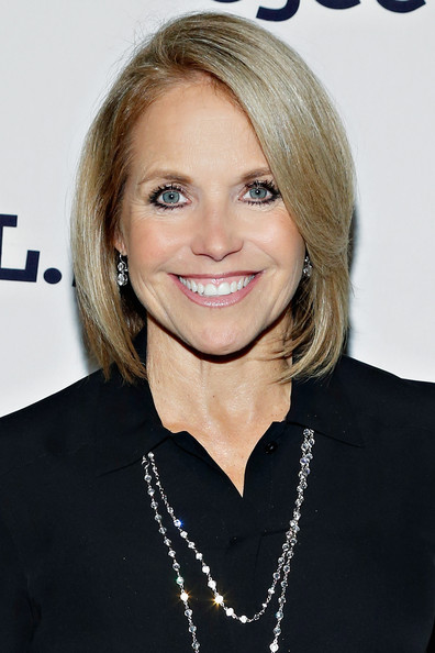 Katie Couric Bob [hair,face,blond,hairstyle,eyebrow,chin,lip,skin,beauty,layered hair,katie couric,project a.l.s.,new york city,cipriani 42nd street,16th annual tomorrow is tonight gala,tomorrow is tonight gala benefiting project a.l.s.]