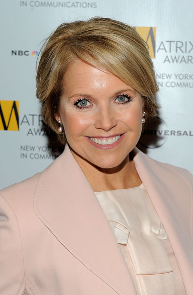 Katie Couric Short Side Part [new york women in communications presents the 2010 matrix awards,photos,hair,face,blond,hairstyle,chin,eyebrow,skin,lip,smile,white-collar worker,katie couric,new york women in communications,2010 matrix awards,new york city,the waldorf astoria]
