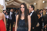 Katie Holmes Beaded Dress