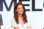 Katie Holmes Wrap Dress