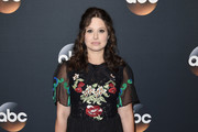 Katie Lowes Embroidered Dress